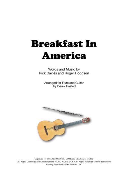 Breakfast In America for Flute and Guitar