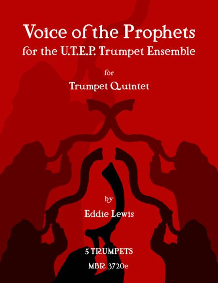 Voice of the Prophets for Trumpet Quintet by Eddie Lewis