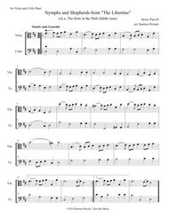 Nymphs and Shepherds for Viola and Cello Duet