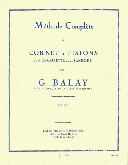 Methode Complete de Cornet a Pistons - Volume 1