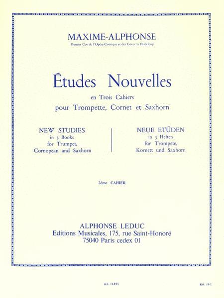 Etudes Nouvelles - Volume 2