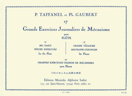 17 Exercices Journaliers De Mecanisme Pour Flute Traversiere