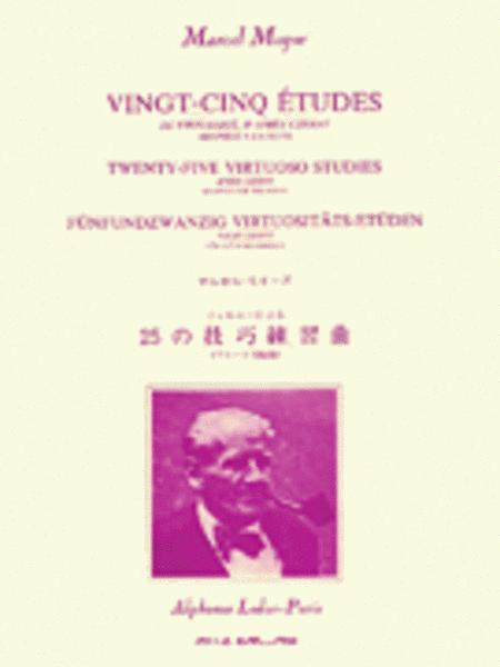 25 Etudes de Virtuosite D'apres Czerny