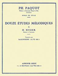Douze Etudes Melodiques
