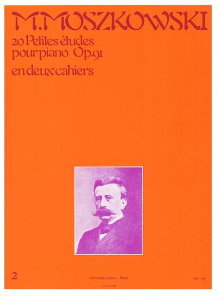 20 Petites Etudes pour Piano Op. 91 - Volume 2
