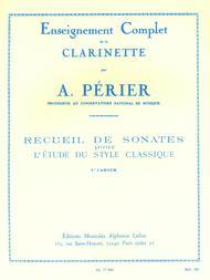 Recueil De Sonates - Volume 1