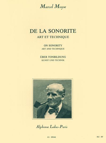 De La Sonorite: Art et Technique
