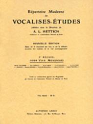 Vocalise-Etude pour Toutes Voix - Volume 3