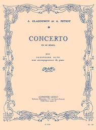 Saxophone Concerto Op. 109 in E Flat