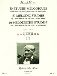50 Melodic Studies by Demersseman for Flute - Volume 2