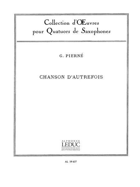 Chanson d'Autrefois Op. 14, No. 5