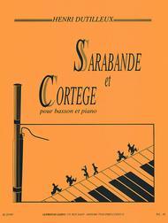 Sarabande et Cortege pour Basson et Piano
