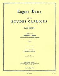 12 Etudes-Caprices for Saxophone
