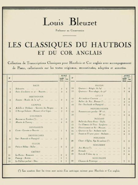 Scherzetto (classiques No.1) (oboe & Piano)