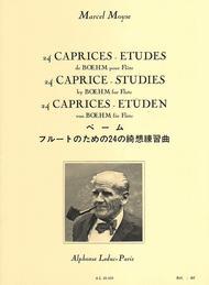 24 Caprices Etudes de Boehm pour Flute