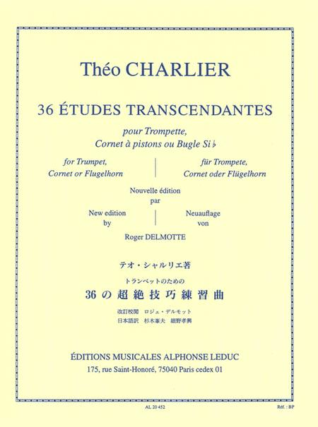 36 Etudes Transcendantes