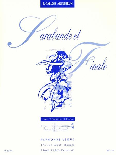 Sarabande And Finale (trumpet And Piano)
