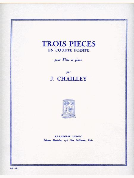 3 Pieces En Courte-pointe (flute & Piano)