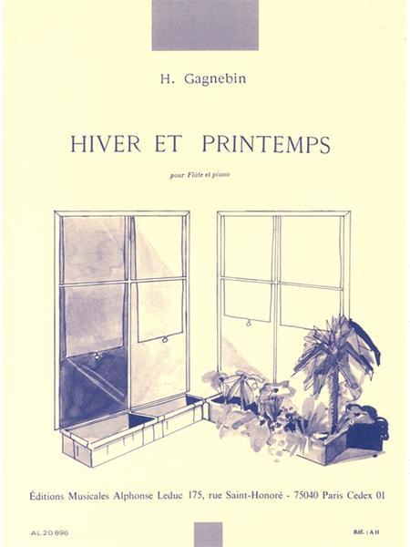 Hiver Et Printemps (flute & Piano)