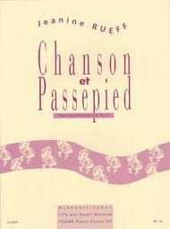 Chanson et Passepied