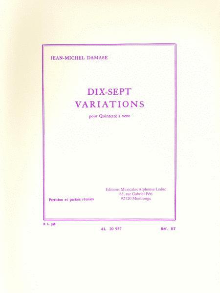 17 Variations For Wind Quintet