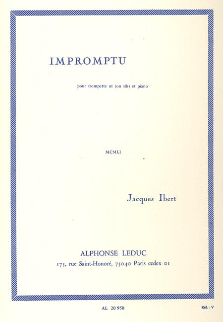 Impromptu (trumpet And Piano)