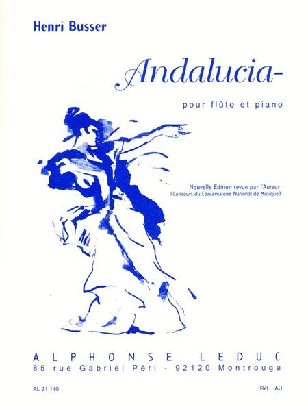 Andalucia, For Flute And Piano