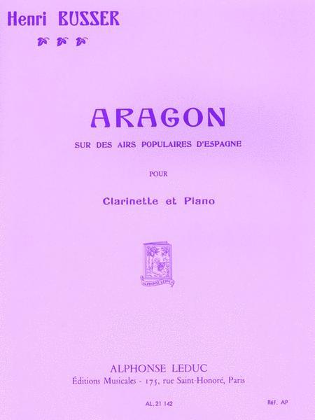 Aragon Op.91 (clarinet & Piano)