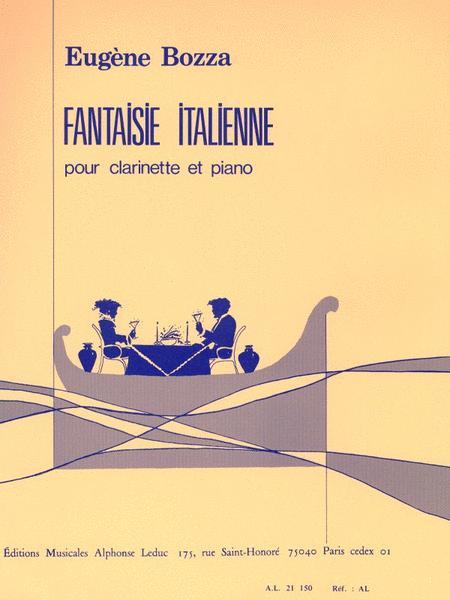 Fantaisie Italienne Pour Clarinette Et Piano