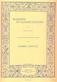 Sicilienne Et Allegro Giocoso Pour Basson Et Piano