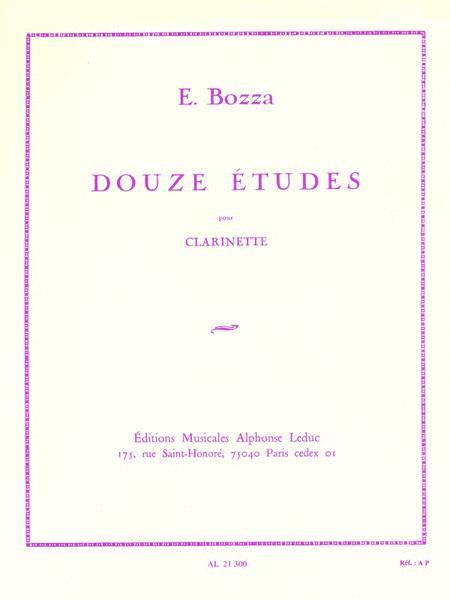 Twelve Studies (clarinet)