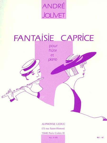 Caprice Fantasy, For Flute And Piano