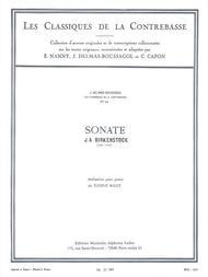 Sonata (classiques No.45) (double Bass & Piano)