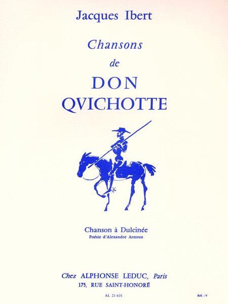 Chansons De Don Quichotte No. 2 - Chanson A Dulcinee
