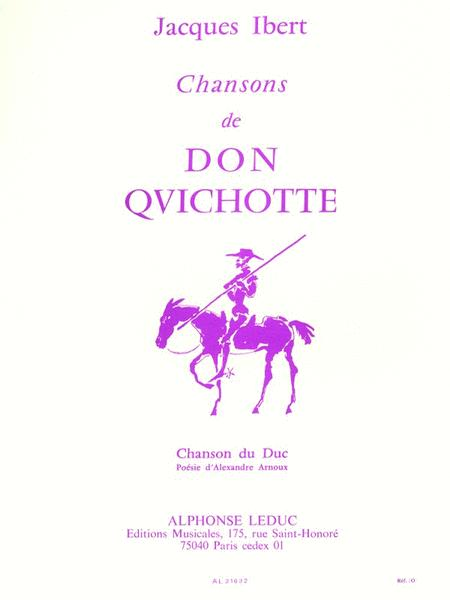 Chanson Du Duc Don Quichote