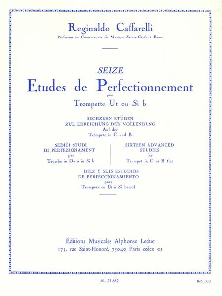 16 Advanced Studies, For Trumpet
