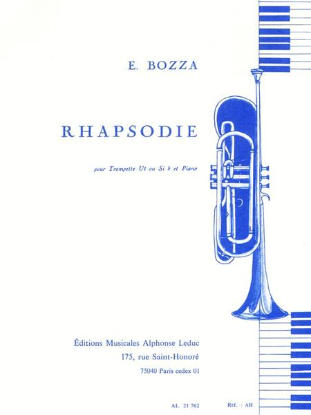Rhapsody, For Trumpet And Piano