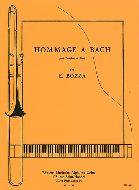 Tribute To Bach, For Trombone And Piano
