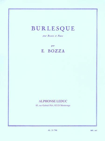 Burlesque (bassoon & Piano)