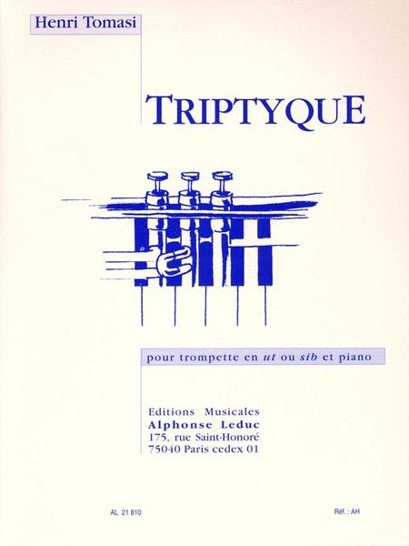 Tryptique (trumpet And Piano)