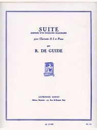 Suite Inspiree D'un Folklore Imaginaire Op.32, No.1 (clarinet & Pian