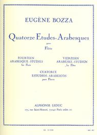 Fourteen Arabesque Studies For Flute