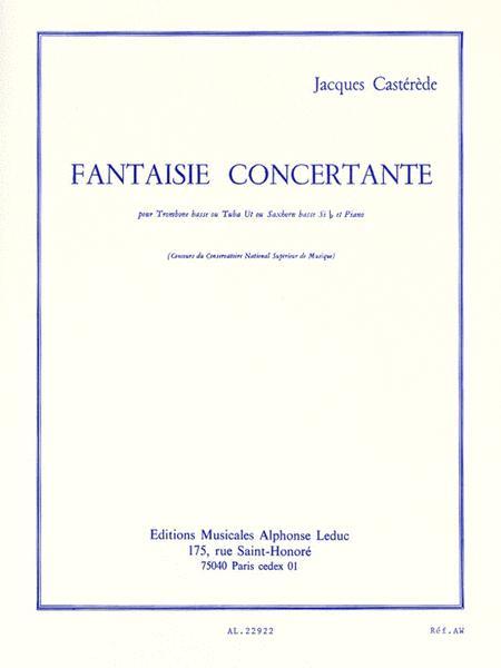 Fantaisie Concertante Pour Trombone Basse Ou Tuba Ut Ou Saxhorn Basse Sib Et Piano