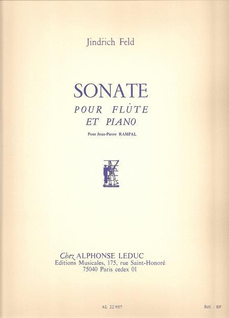 Jindrich Feld - Sonate Pour Flute Et Piano