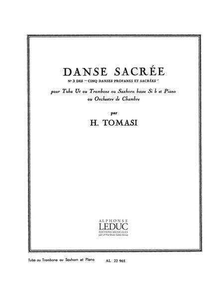 Danse Sacree (c Or B Flat) (tuba & Piano)