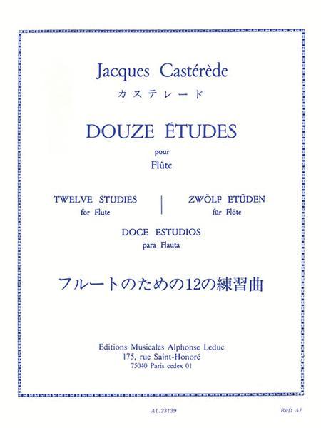 Douze Etudes Pour Flute