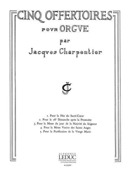 5 Offertoires (organ)