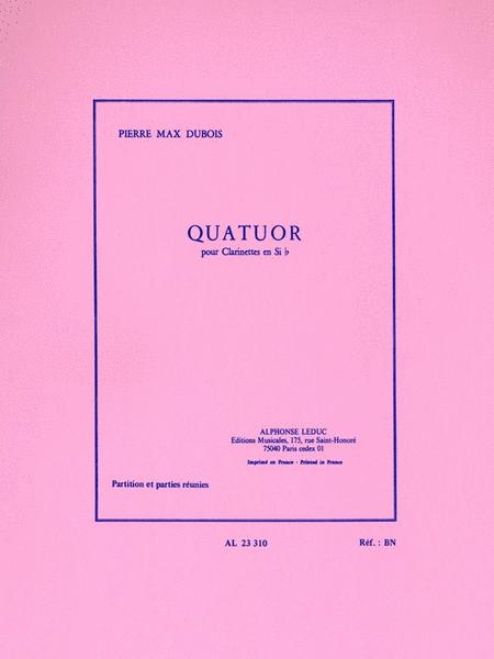 Quartet (four Bb Clarinets)