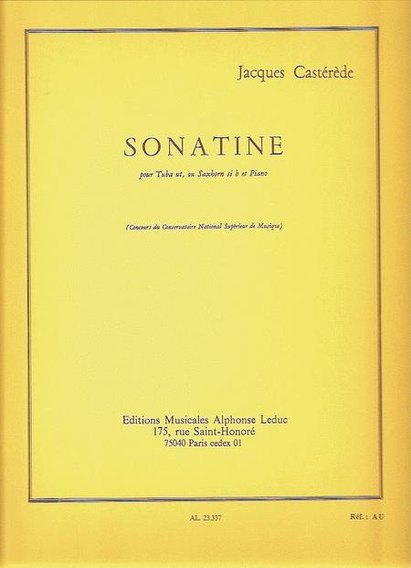 Sonatina (tuba/saxhorn And Piano)