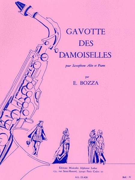Gavotte Des Damoiselles (saxophone-alto & Piano)